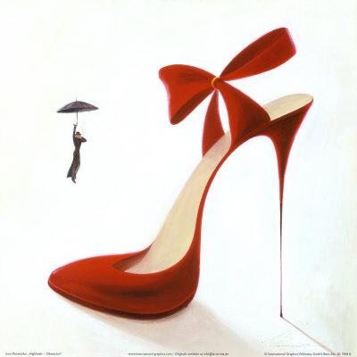 ...я считаю туфли.И нет ничего красивее туфель на каблуке.Высоком,чем...